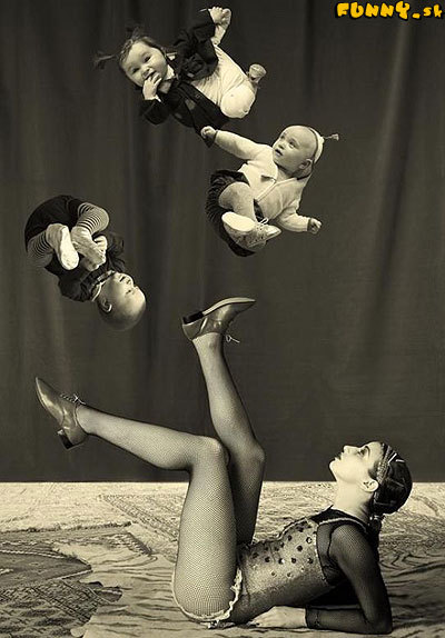 Malí akrobati - cirkusová prípravka