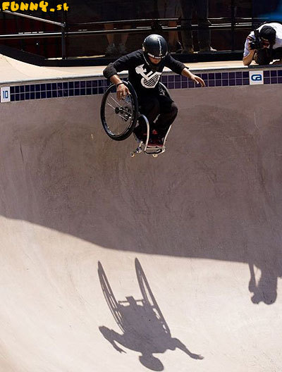 Odvaha na invalidnom vozíku