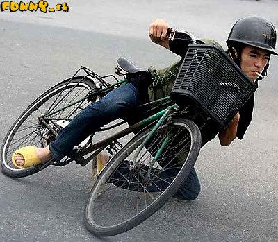 Chudobný motorkár