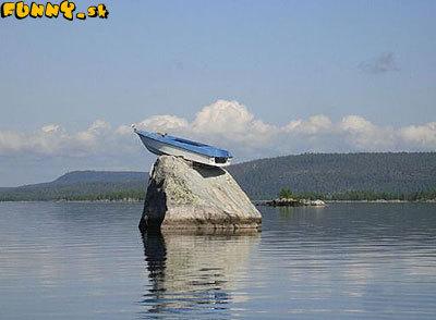 Zaparkovaná loď