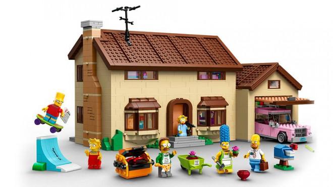 Prvý LEGO Simpsonovci