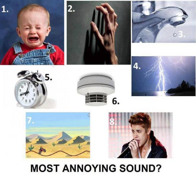 Najotravnejší zvuk ?
