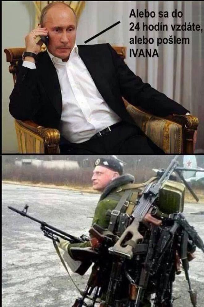 Univerzálny ruský vojak :D