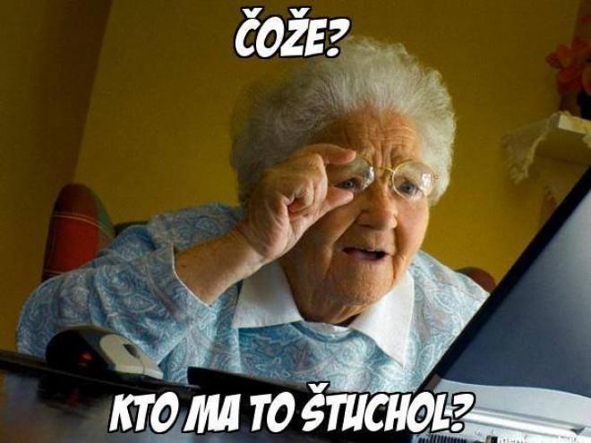 Babičky na facebooku :D
