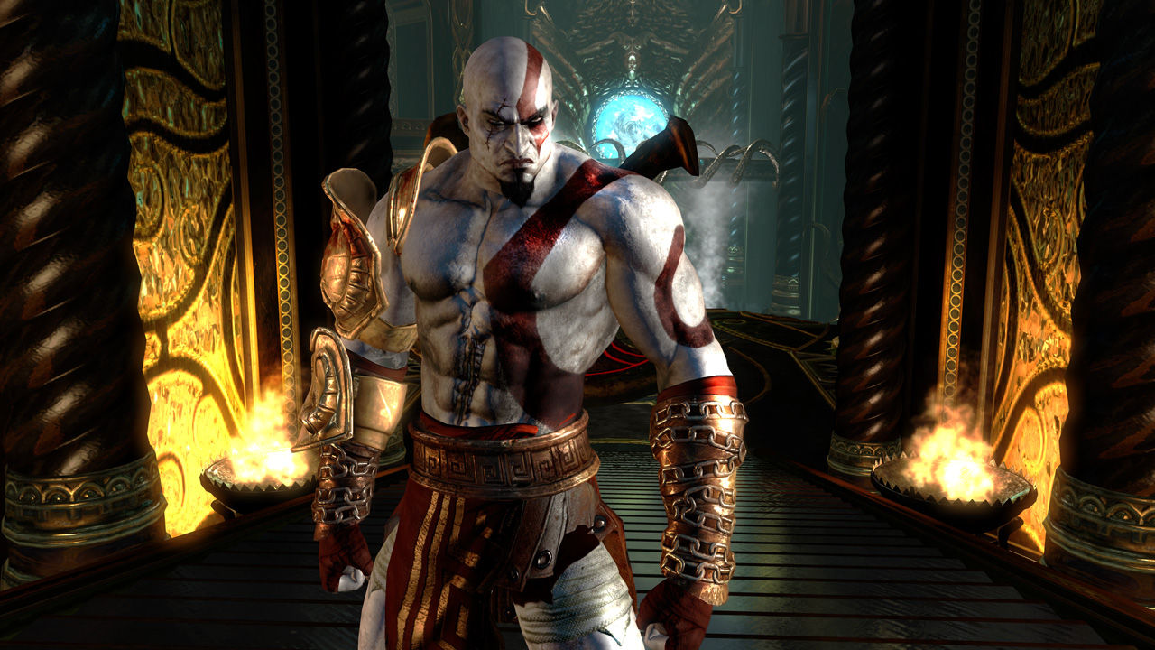 Cached God of war game pictures