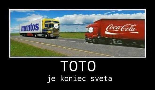 Cola&Mentos fail